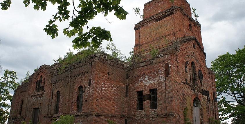 Храм Николая Чудотворца вКингисеппском районе, наконец-то, реконструируют