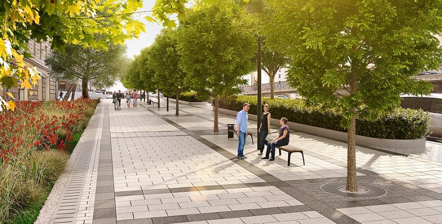 Петербуржские власти поддержали концепцию развития пешеходных зон